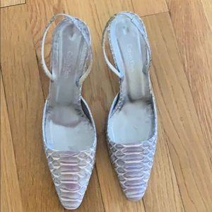 Python Sling Back Shoes